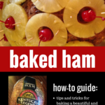 How to Bake a Beautiful Ham for Your Holiday Dinners #holidays #ham #kentuckylegendham